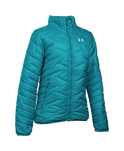 Under Armour Girls' ColdGear Reactor Jacket, Pacific (478), Youth X-Small