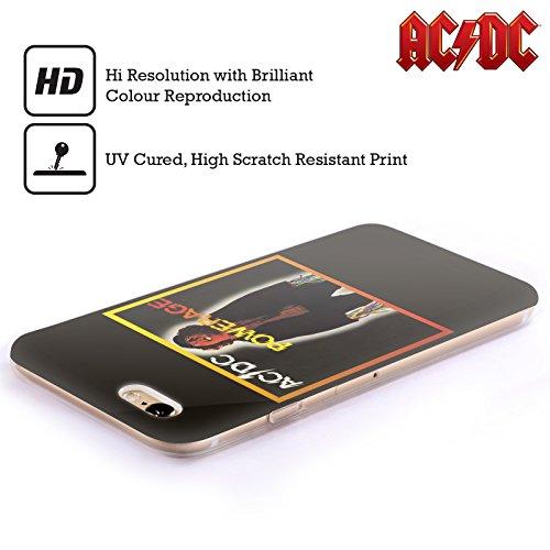 Officiel AC/DC ACDC Powerrage Couverture D'album Étui Coque en Gel molle pour Apple iPhone 5c