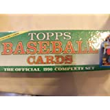 Topps Baseball Cards - The Official 1990 Complete Set
