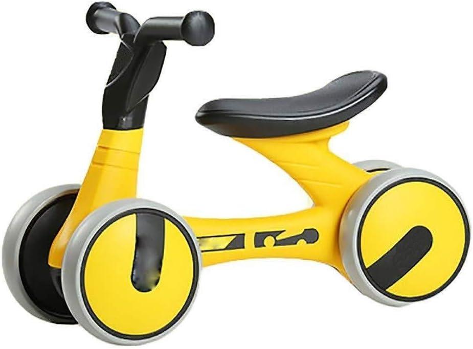 Daxiong Triciclo Equilibrio de Bicicletas de los niños sin Pedales, Apto para 1-3 bebé de los años a Caballo Ligera Bick