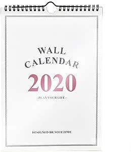 Rich-Hom 2019-2020 Calendario De Pared del Planificador De Hogar, Calendario De Escritorio Independiente para Planificador Familiar del Año Escolar, Desde Septiembre De 2019 hasta Diciembre De 2020: Amazon.es: Hogar