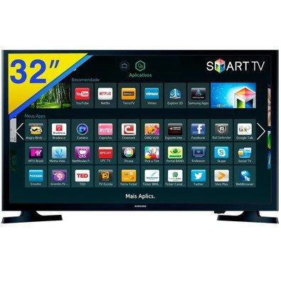 Samsung UN32J4300 - SMART TV LED 32´´ Wide HD HDMI/USB Preto