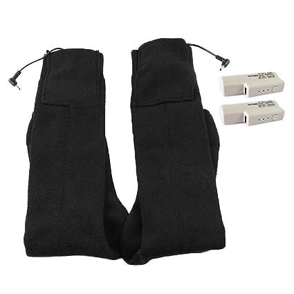 Calcetines Electricos USB Calcetines de Calefacción con 3 Temperatura Ajustable Calentador de Pies Recargable Lavable: Amazon.es: Bricolaje y herramientas