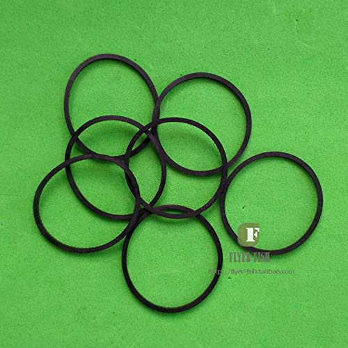 Pukido 10pcs/lot Replacement DVD Disk Drive Belts for Xbox 360 Tray Rubber Ring Fix XBOX360 ()
