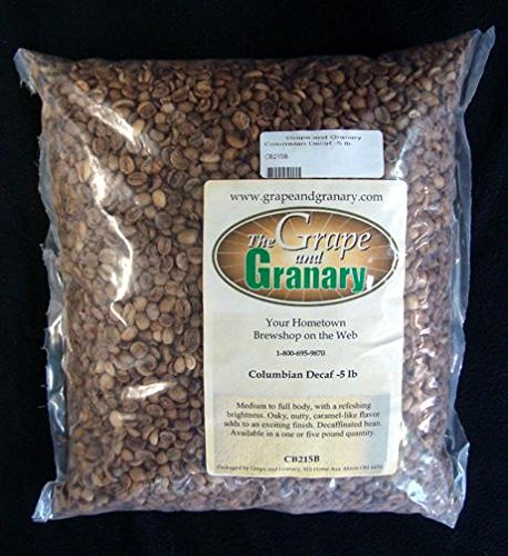 Colombian Decaf unroasted Coffee Beans (5LB)
