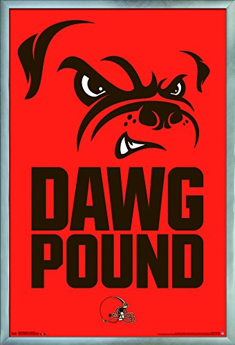 Trends International Cleveland Browns-Dog Pound Wall Poster, 24.25