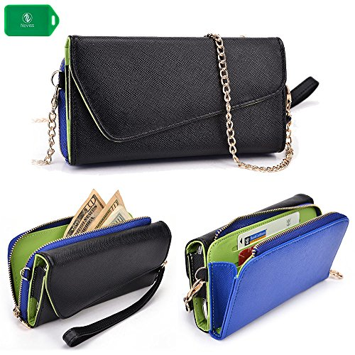 cellphone-wallet-clutch-includes-crossbody-chain-black-blue-universal-design-fits-the-following-sams