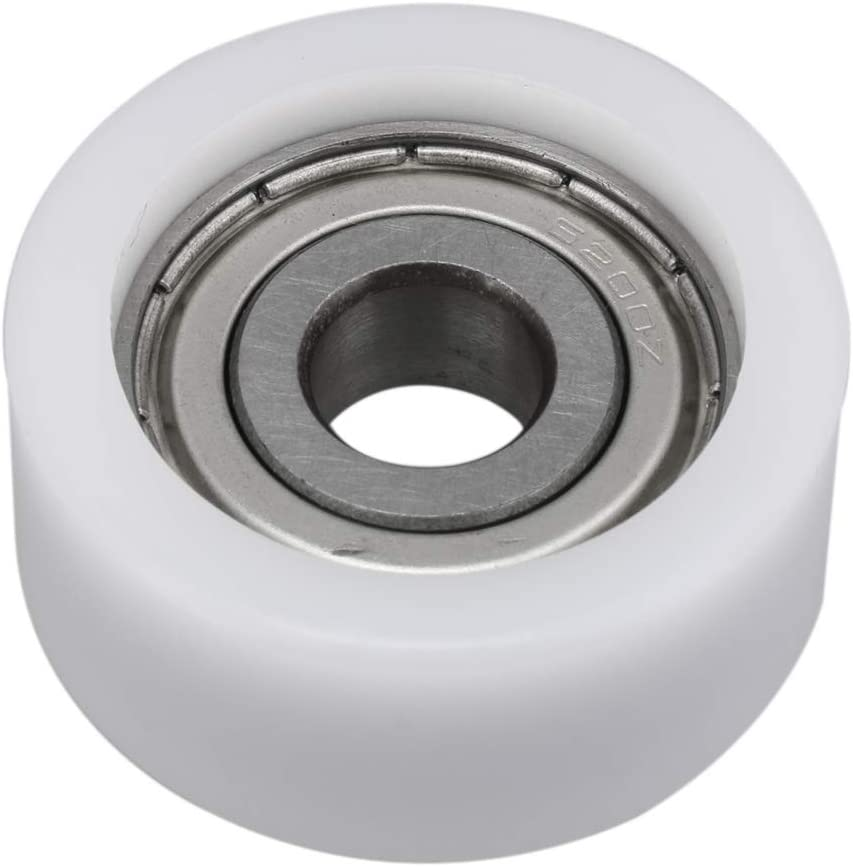 mit Metalldichtung BQLZR Rillenf/ührung Kunststoff Kugellager 10 x 36 x 16 mm rund