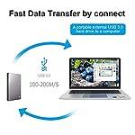 PIHEN-Micro-B-Cavo-cavo-di-sincronizzazione-USB-30-a-micro-USB-30-con-connettore-in-alluminio-per-Toshiba-Canvio-disco-rigido-esterno-WD-Samsung-Galaxy-S5-Note-3-e-altro-05m