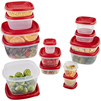 Amazon Com Rubbermaid 60 Piece Easy Find Lid Food Storage