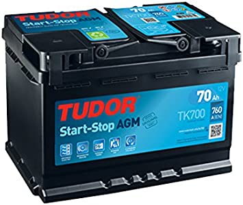START STOP BATTERIA AGM TK-760A 700-70AH TUDOR