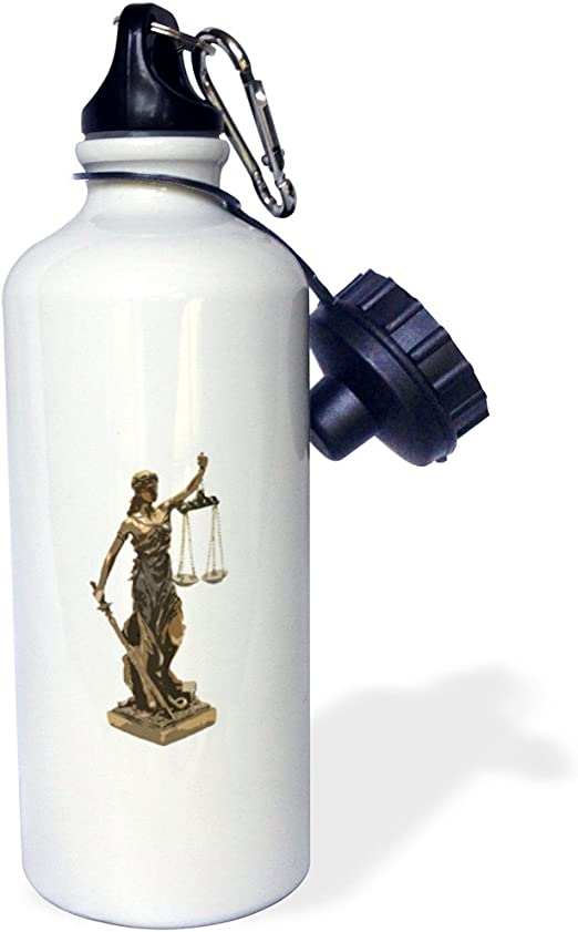 21oz 21 oz Multicolor 3dRose Attorney at Law-Scales of Justice-Sports Water Bottle wb/_217227/_1