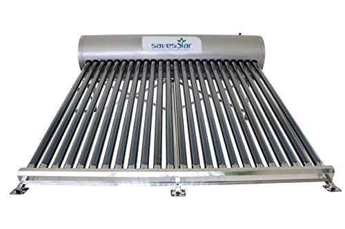 Calentador solar de agua de tubos al vacío de 200 litros