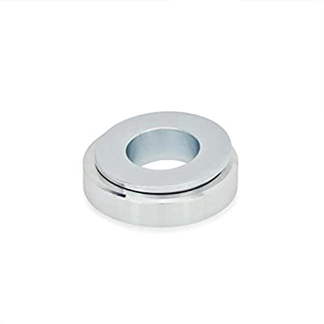 3//8 x 7//8 OD 303 Stainless Steel Spherical Washer Assembly