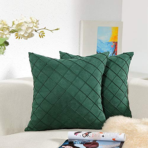 Homiin Chrismas Decorative Pillow Covers 18x18 for