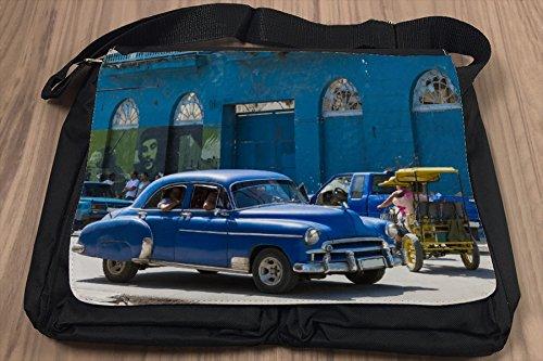 Borsa Tracolla Garage Annata Havana Stampato