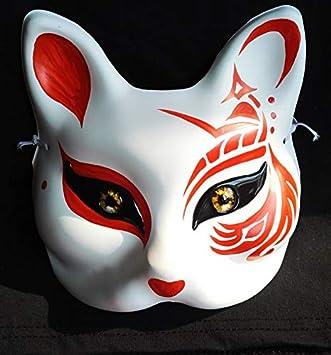 Festival Prom Hombre Lobo Matar Excelente Máscara De Zorro Máscara De Zorro Cerrado Ojos Mesa Juego Máscara Matando Máscara De Juego De Halloween Bola Juego Apoyos Blocked Fox 43: Amazon.es: Bricolaje y