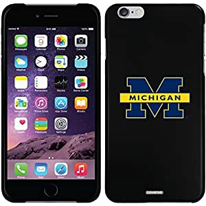 University Of Michigan - Michigan M design on Black iPhone 6 Plus Thinshield Snap-On Case