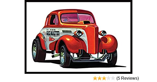 AMT 1:25 Scale 3-in-1 1937 Chevy Coupe Gasser Edition Model Kit