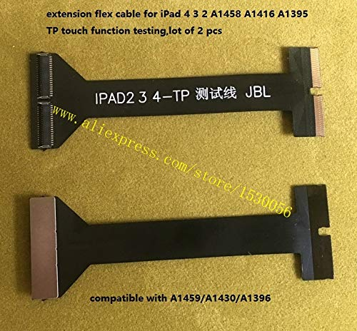 Gimax extension flex cable for iPad 4 3 2 A1458 A1416 A1395 TP touch function testing,lot of 2 pcs