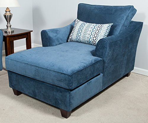 Somerset Chaise in Blue 680258