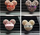 Best seller Luxury car ornaments girl Exquisite diamond Air conditioning outlet Car air refreshing agent Car styling Perfumes 100 Original