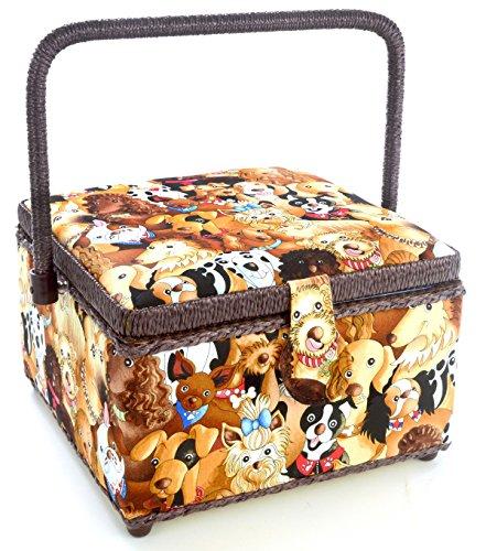 Dritz Square Sewing Basket Medium product image
