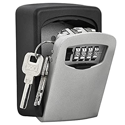 imurz Safe Key Box Lock Box Security Box