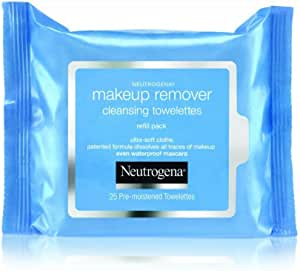 Neutrogena Makeup Remover Cleansing Towelettes 25 Count,Pack of 1