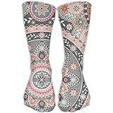Bobo Kaleidoscope Girls Mens Dress Crew Socks Convenient Pregnancy Crazy Socks