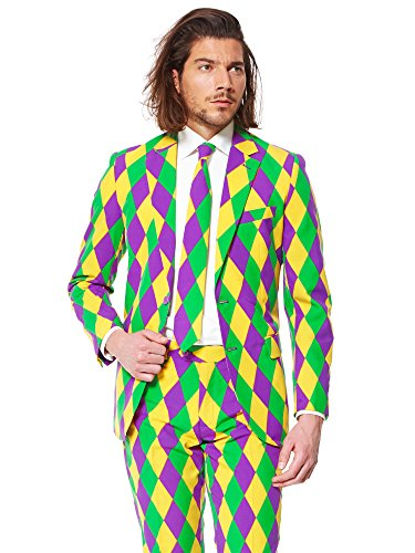 OppoSuits Harleking Suit with Fun Colors and Prints for sale  Delivered anywhere in USA