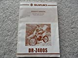 2000 2001 Suzuki DR-Z400S Owners Manual DR Z 400 S