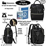 Lily & Drew Casual Travel Daypack School Backpack