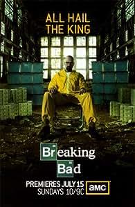 Lámina maestra 'Breaking Bad, póster de TV', Tamaño: 43 x 28 cm