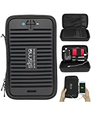Sisma Travel Cables Organiser Case Small Electronic Accessories Carrying Bag