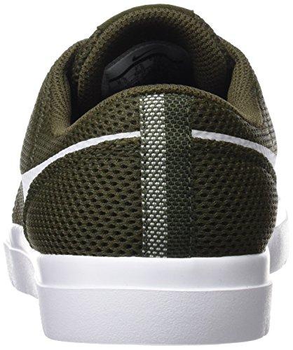 Nike Mens Sb Portmore Ii Scarpe Da Skate Ultralight Cargo Kaki / Bianco