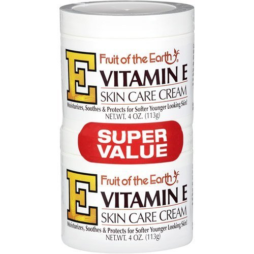 Fruit de la crème de soin de la peau de la Terre vitamine E - 4 Oz.X 2 Pcs