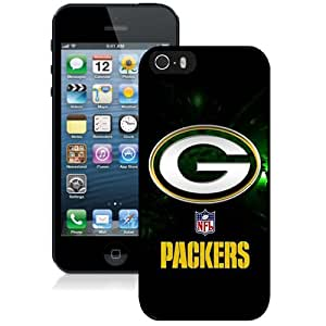 Personalized iPhone 5s Case Design with Green Bay Packers Iphone 5 5s Generation Black Case