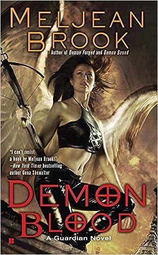 Book Demon Blood (Guardian Novels)