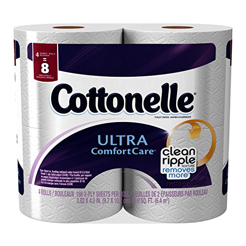 Kleenex Cottonelle Ultra Comfort Care Toilet Paper - 4 CT Kleenex Ultra Toilet Roll