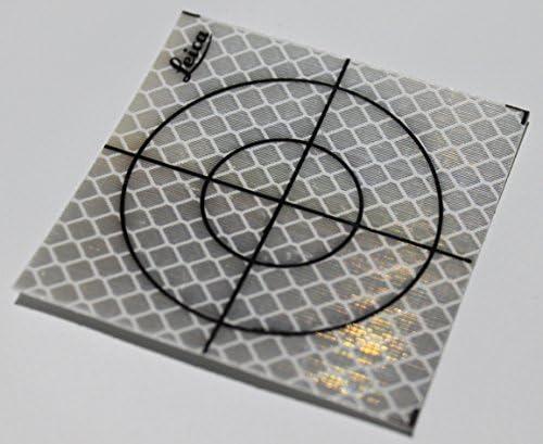 Reflective Tape Survey Targets 100pcs 40X40mm, White