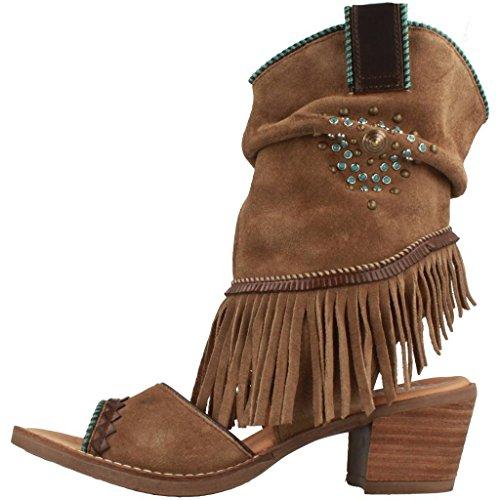 NEMONIC Sandalias y Chanclas Para Mujer, Color Marrón, Marca, Modelo Sandalias Y Chanclas Para Mujer 2042N Marrón marrón