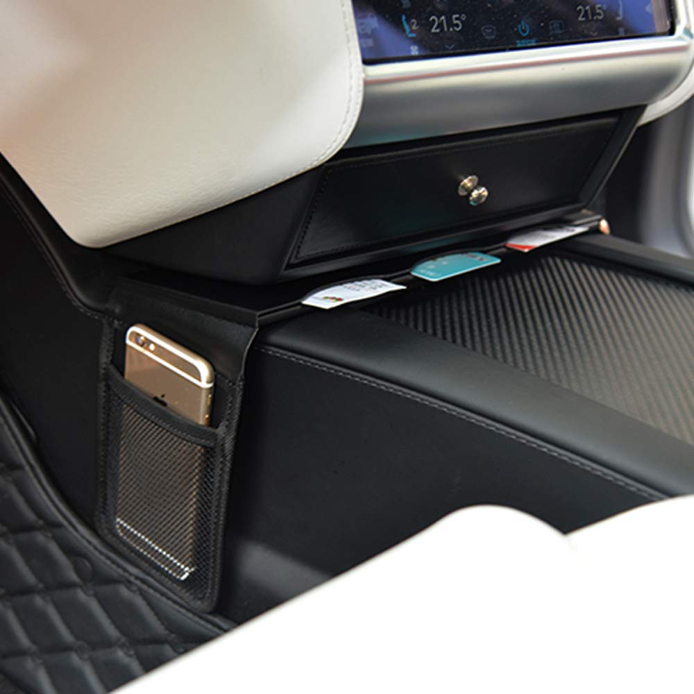 TeslaOwner Center Console Card Set phone holder for Model S and Model X