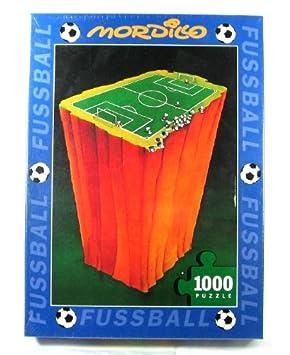 Mordillo Fussball Puzzle 1000 Teile Puzzle Amazon De