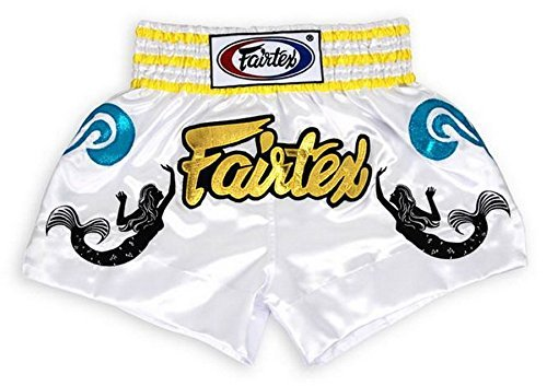 Fairtex Model BS0643 Mermaid - Satin Shorts for Boxing, Kick Boxing, Muay Thai, MMA, - Outlet Oakley Watches
