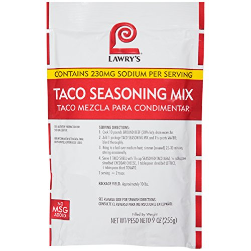 (Lawry's Taco Seasoning Mix, 9 oz)