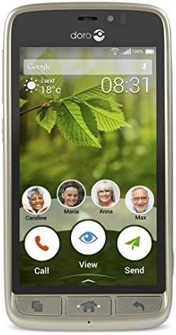Doro 8031 4G 8GB Champán - Smartphone (11,4 cm (4.5