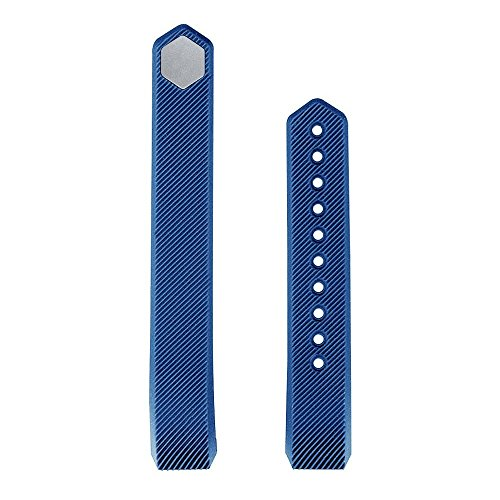 Replacement Band For Fitness Tracker C5  Navy Blue    2Pcs