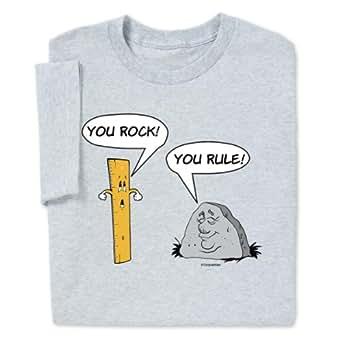 Computergear You Rock You Rule T Shirt Clothing
