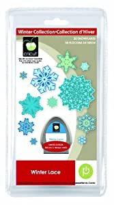 Cricut 2000539 Seasonal Cartridge Winter Lace